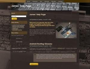 James' Help Site
