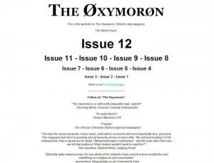 The Øxymorøn