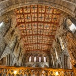 St David's Cathedral in HDR