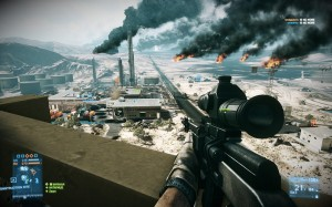 BF3 View from above